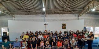 PROFESSORES DAS ESCOLAS MUNICIPAIS DE IBIRACI.